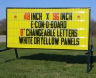 4x8 Portable Sign