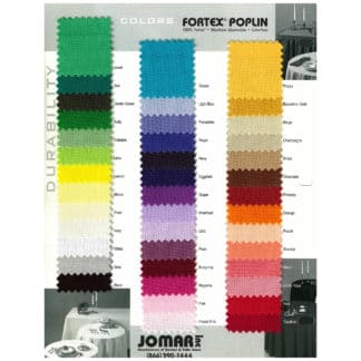 FORTEX SOLID COLORS
